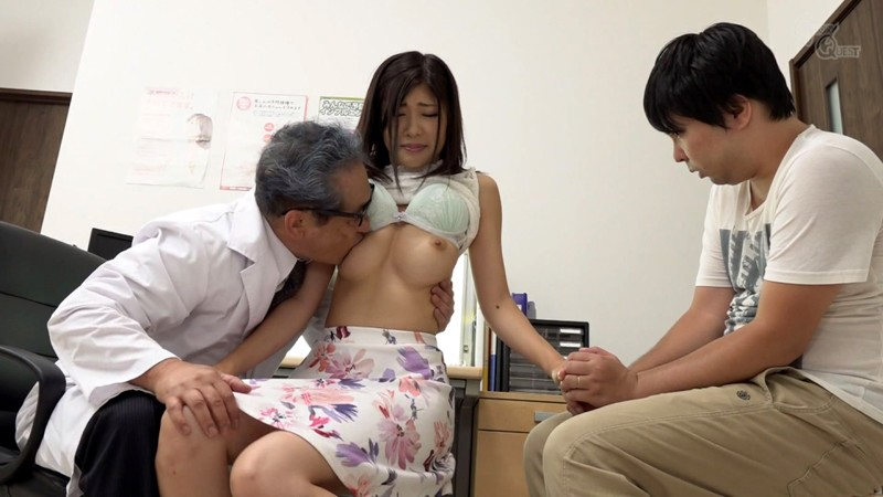 GVG-797 Village Doctor Old Man Face Licking Creampie Pervert Clinical